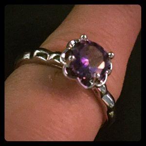 Beautiful amethyst ring size 10